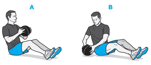 training planner voor buik en benen