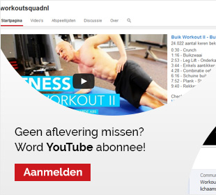 Wordt YouTube abonnee!